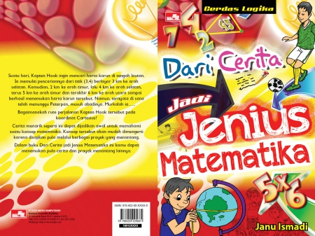 Dari Cerita jadi Jenius Matematika - Janu Ismadi, Math, Book, Story