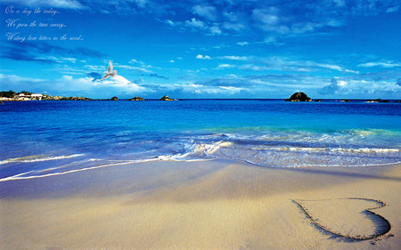 love beach beaches nature background wallpapers on desktop nexus