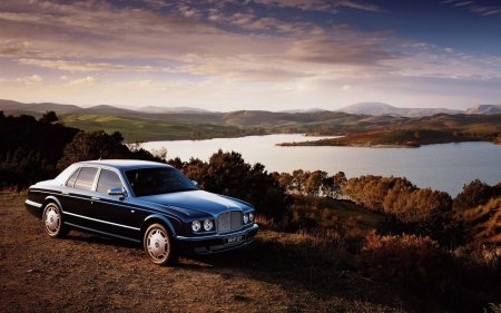 BENTLEY - cars, river, fun, BENTLEY