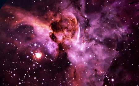 Pink Nebula - NEBULAS, SPACE, BEAUTY, NATURE