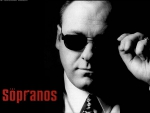 Tony Soprano in Black & White