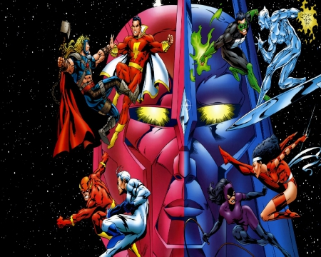 Dc Vs Marvel Other Entertainment Background Wallpapers On
