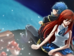 Fairy tail Erza and Jellal