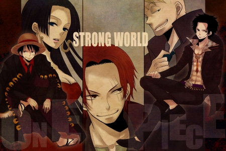 Strong World Other Anime Background Wallpapers On