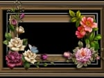 ✫Frame Scented Roses✫