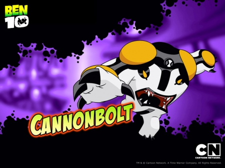 cannon bolt - power, ball, ben 10, cn