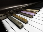 A PIANO OF A DIFFERENT COLOR