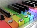 Colors piano