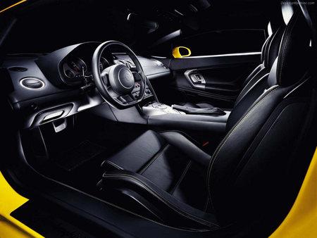 Inside Of A Lamborghini Galardo Lamborghini Cars Background