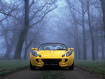 Yelllow Lotus Elise Front Head-On