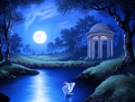 ✫Swan Night of the Full Moon✫