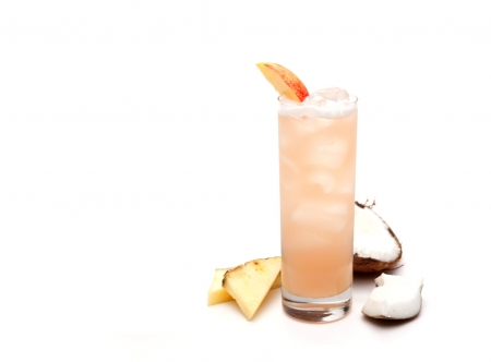 Cocktail - Island Breeze - pineapple, cocktail, cocktail island breeze, drinks, coconut, drink, cocktails