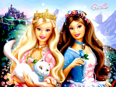 Lovely Barbie 3d And Cg Abstract Background Wallpapers On