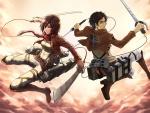 Eren ♡ Mikasa