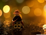 INDIANA JONES LEGO BOKEH