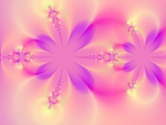 Pink & Purple Flower Fractal