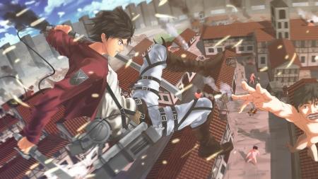 Attack On Titan Eren Jaeger Other Anime Background Wallpapers On Desktop Nexus Image 1506736