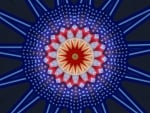 Stars and Stripes Kaleidoscope 1