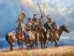 Natives with Horses