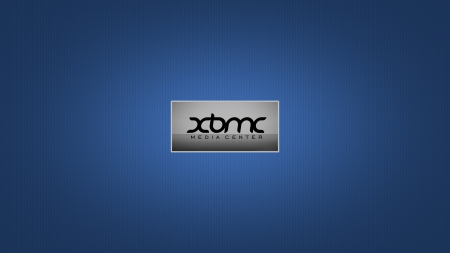 xbmc - xbmc, hd, blue, centre, wallpaper, media