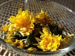DRYING DANDELIONS FOR SALAD