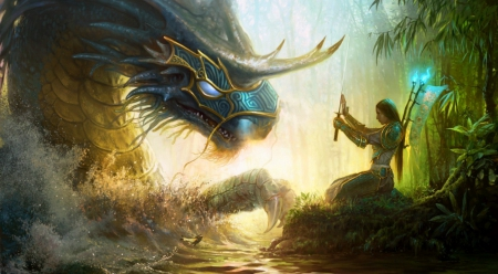 Ancient Water Dragon