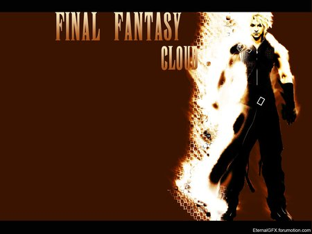 Final Fantasy Cloud - finalfantasy, dissidia, cloud, movie, anime, fight
