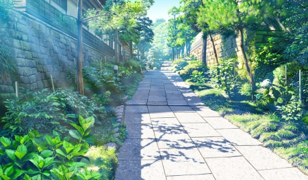 Walkway Other Amp Anime Background Wallpapers On Desktop