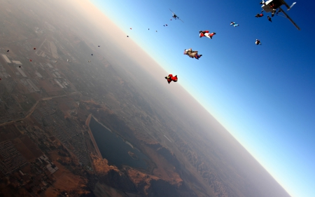 Amazing Skydiving View - Nice, View, Sports, Skydiving