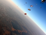 Amazing Skydiving View