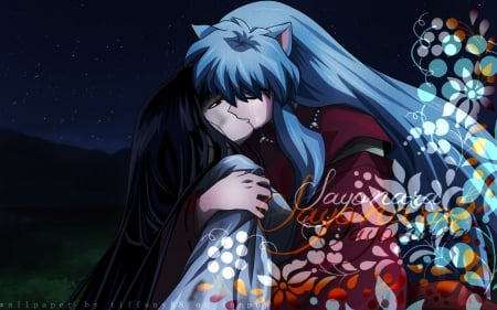 Sad Romance Inuyasha Anime Background Wallpapers On Desktop
