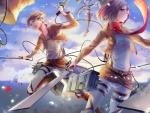 Eren ♥ Mikasa