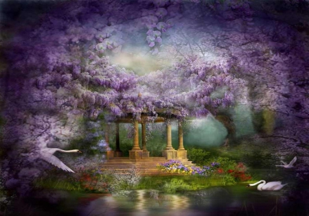 ~ magical place ~ - Fantasy & Abstract Background ...