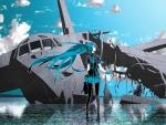 Hatsune Miku, Crashed Plane