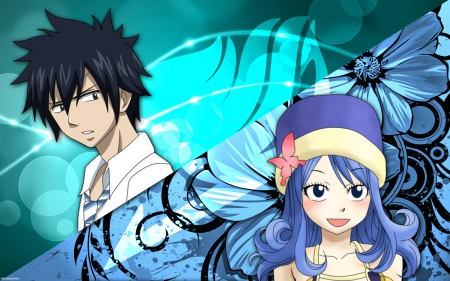 Gray And Juvia Other Anime Background Wallpapers On