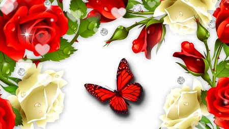 Roses red roses white flowers nature background wallpapers on roses red roses white mightylinksfo