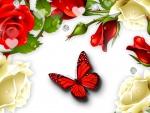Roses Red Roses White