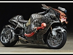 Suzuki Hayabusa - The Predator bike