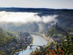 fairytale town of klotten germany on the moselle river