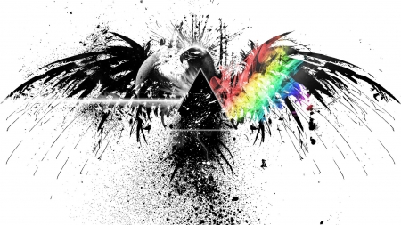 Triangle Illuminati Symbolism Graffiti Abstract