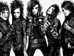 Black Veil Brides in Black and White