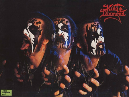 King Diamond - Metal, Diamond, King Diamond, Mercyful Fate