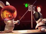 Rayman Raving Rabbids - Fencing