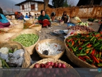 MARKETPLACE IN BHUTAN, AFRICA