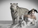 Bride and White Tiger