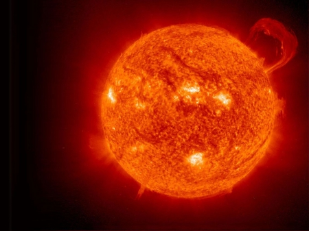 The Red Star - The Red Star, the sun, red sun, fiery sun