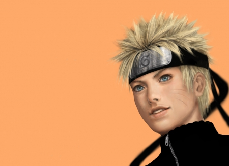 Uzumaki Naruto - blond, hd, cg, guy, uzumaki naruto, naruto shippuuden, Shippuden, close up, spiky hair, naruto uzumaki, anime, uzumaki, handsome, Naruto Shippuden, shippuuden, realistic, ninja, shinobi, male, blonde, blonde hair, blond hair, konoha, short hair, boy, 3d, warrior, headband, sinister, serious
