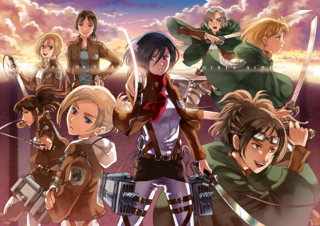 Attack On Titan Other Anime Background Wallpapers On Desktop Nexus Image 1522573
