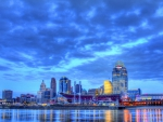 beautiful nashville tennessee riverfront hdr