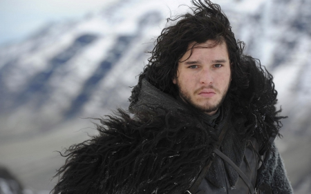 Game of Thrones - Jon Snow - kit harington, westeros, game of thrones, picture, show, tv show, wallpaper, tv series, Jon Snow, super, george r r martin, a song of ice and fire, hbo, medieval, entertainment, skyphoenixx1, the nights watch, great